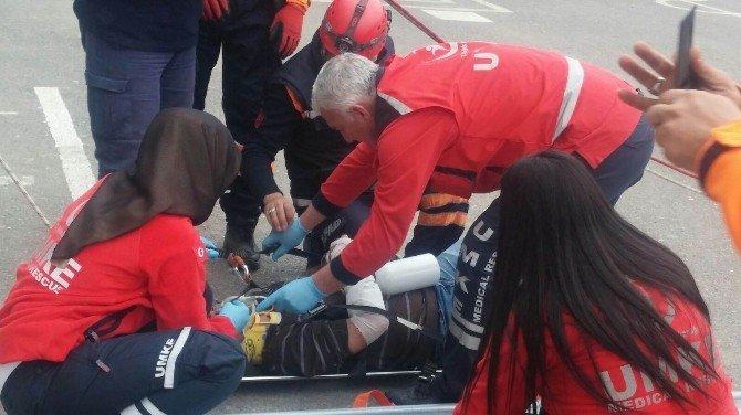 Adıyaman'da Okulda Deprem Tatbikatı Yapıldı