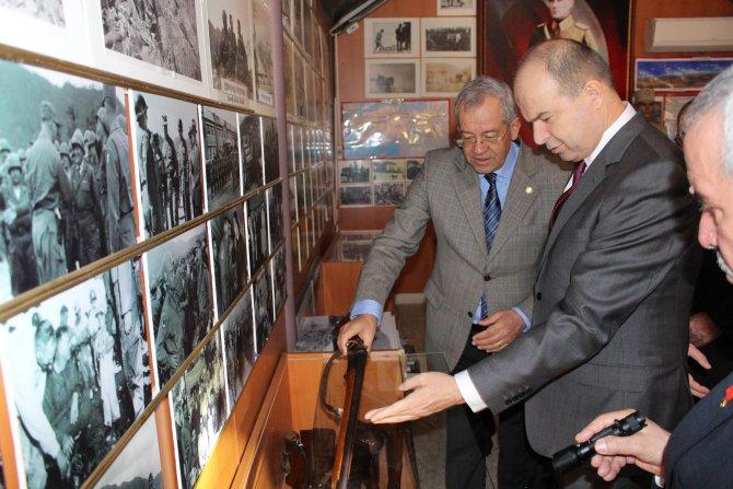Ankara Valisi'nden Türkiye Muharip Gaziler Derneği'ne ziyaret