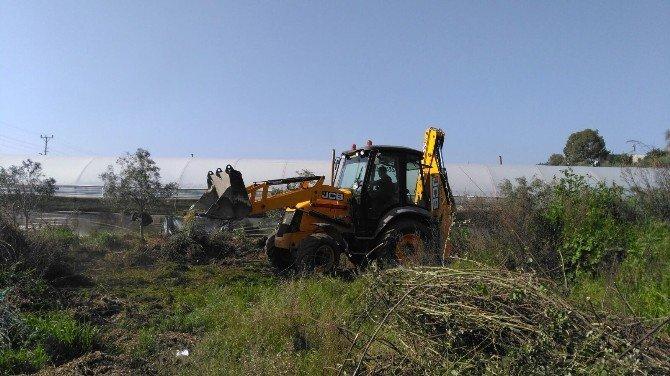 Demre'de 200 Yıllık Mezarlık Gün Yüzüne Çıkartıldı