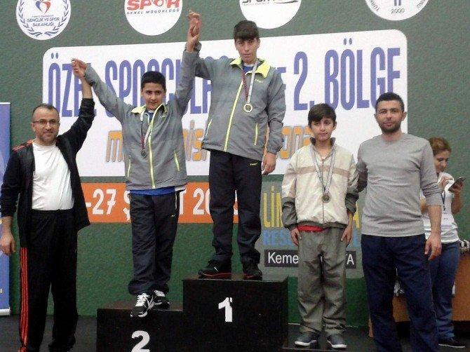 Aydın'ın Özel Sporcularından Büyük Başarı