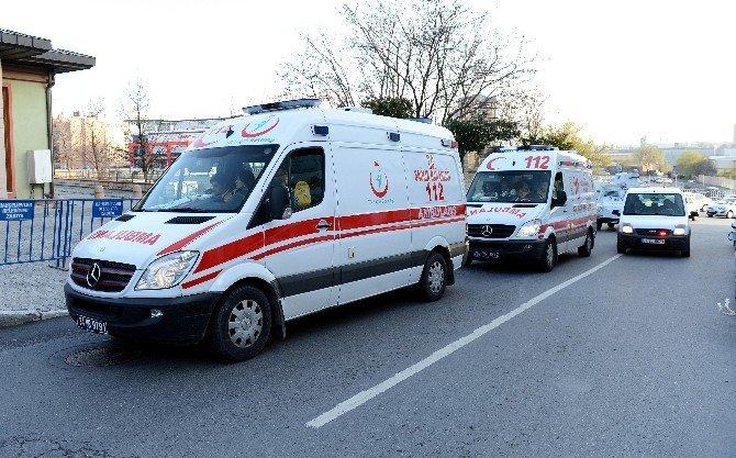 Kadın Teröristlerin Cenazesi Adli Tıp'a Kaldırıldı