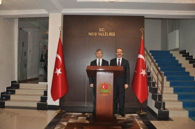 Bitlis Valisi Çınar'dan Yavuz'a Ziyaret