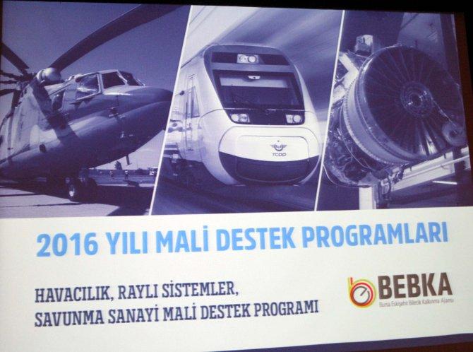 BEBKA'dan havacılık, raylı sistemler ve savunma sanayine 12 milyonluk destek