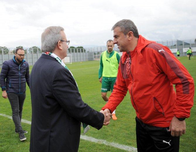 Bursaspor, Çaykur Rizespor hazırlıklarını sürdürdü