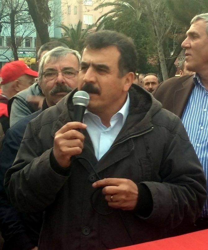 Mudanya'da metal işçileri, Renault işçileriyle birlikte yürüdü