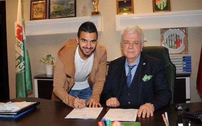 Bursaspor, Aziz Behıch İle Sözleşme Uzattı
