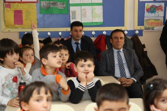 Başkan Genç, Miniklerle Çevre İçin Buluştu
