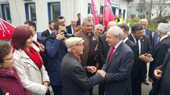 CHP Genel Başkanı Kılıçdaroğlu Düzce'de