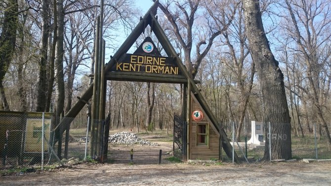Edirne Belediyesi Kent Ormanı'na kavuştu