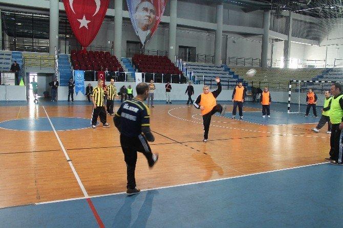 Engelliler Arası Futbol Maçı Yapıldı