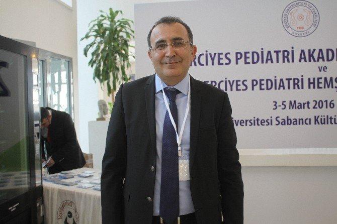 ERÜ'de 2. Erciyes Pediatri Akademisi Kış Kongresi Ve Erciyes Pediatri Hemşireliği Kongresi Başladı