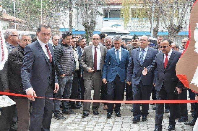 Sandıklı'da Yeni Esnaf Kefalet Kredi Kooperatifi Açıldı