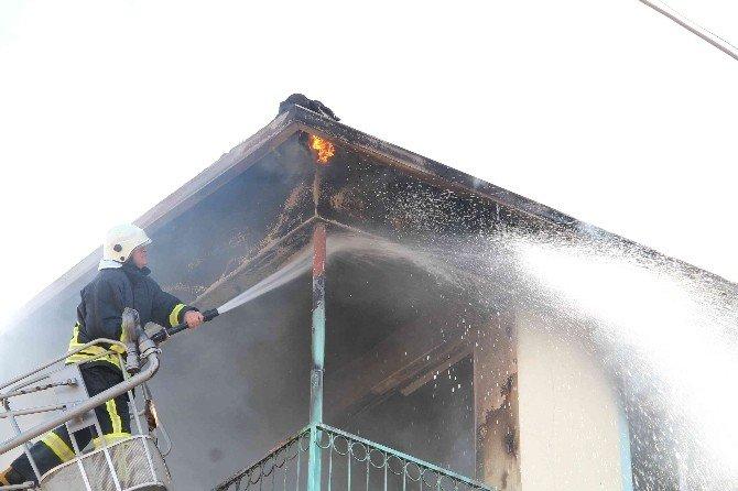 Fethiye'de Çıkan Yangın Korkuttu