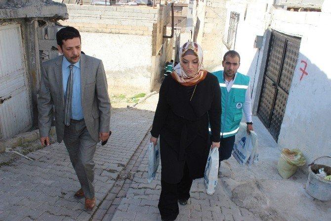 Eyyübiye Belediyesi, Muhtaç İnsanlara Ulaşmaya Devam Ediyor