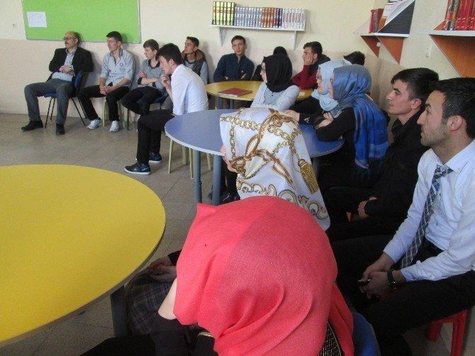 Hisarcık Aihl'de 'Mesleki Tanıtım' Faaliyeti