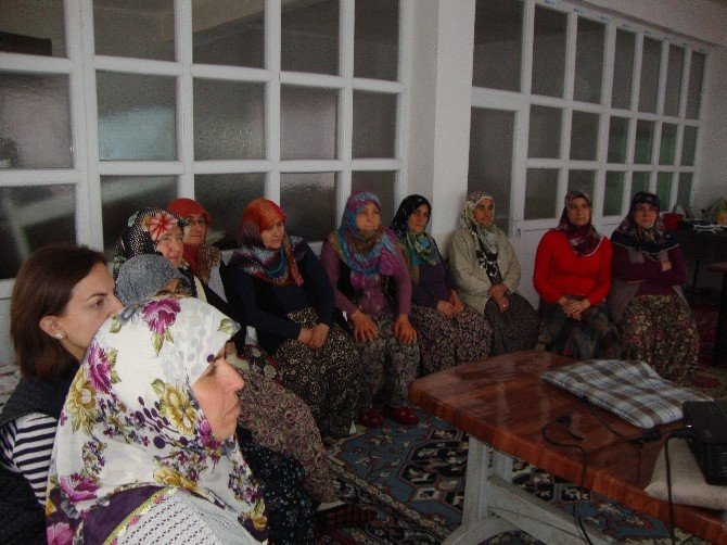 Bilecik'te Kadın Çiftçilere Diyetisyen Desteği