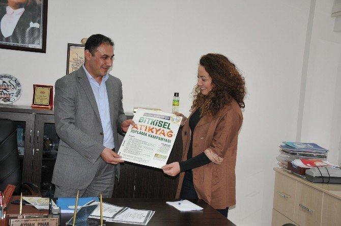 Bozüyük Belediyesi'nden Bitkisel Atık Yağ Toplama Kampanyası