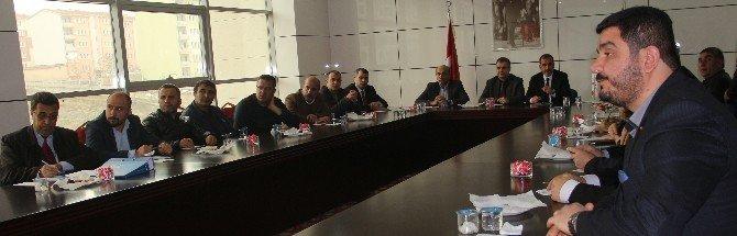 Elazığ'da Kamu Taşınmazlarının Yatırımlara Tahsisi Toplantısı Yapıldı