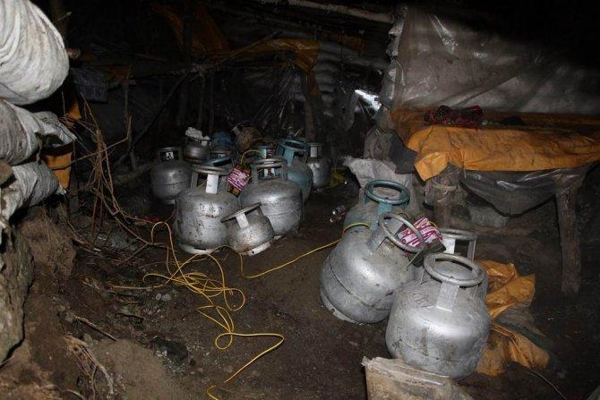 Kars'ın Kağızman ilçesinde 4 sığınak bulundu