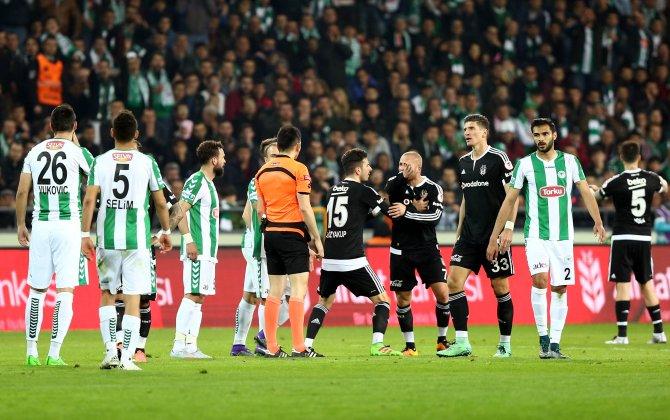 Torku Konyaspor: 0 - Beşiktaş: 0 (İlk yarı)