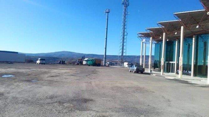 Demirci Otogarı'nda Çile Bitiyor
