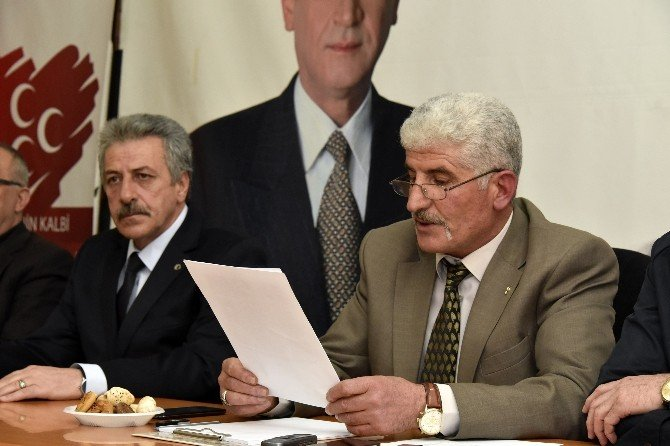Gümüşhane MHP'nin Yeni Yönetimi Belli Oldu