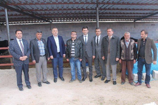 Görme Engelli Vatandaş Hayvan Çiftliği Kurdu