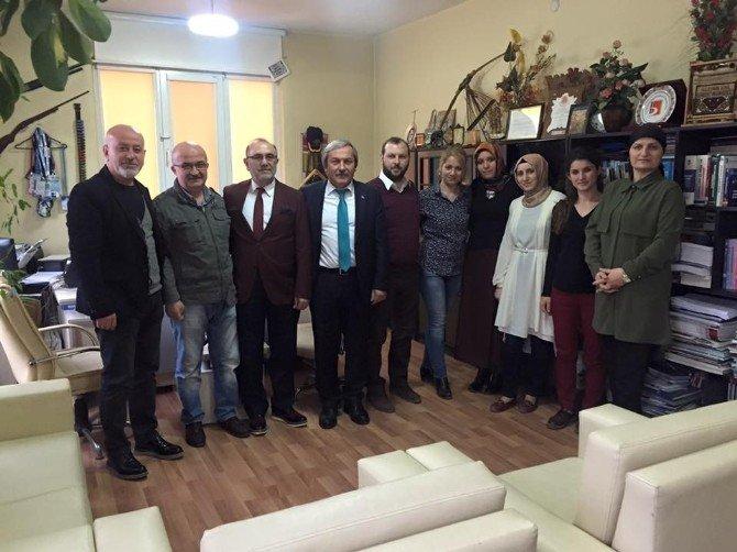 Başkan Şahin Muhasebeciler Odasını Ziyaret Etti