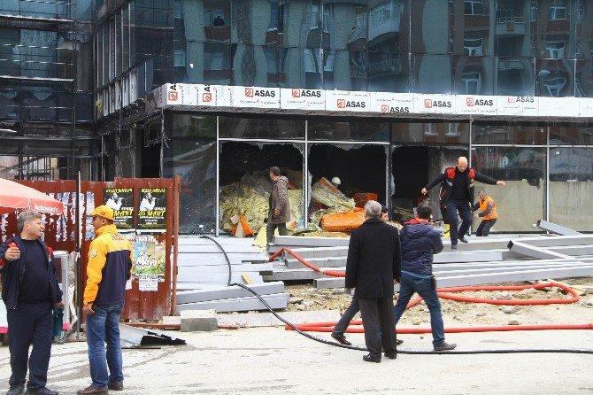 Samsun'da Hastanede Yangın