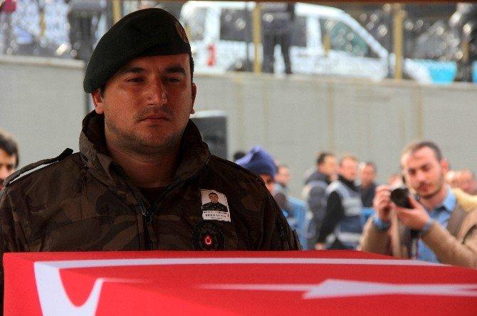 Şehit Polis Memuru Yüca, Son Yolculuğuna Uğurlandı