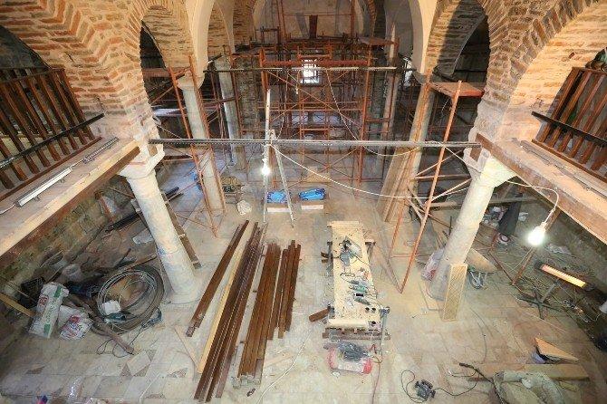 Şirince St. John Kilisesi İnanç Turizmine Hazırlanıyor
