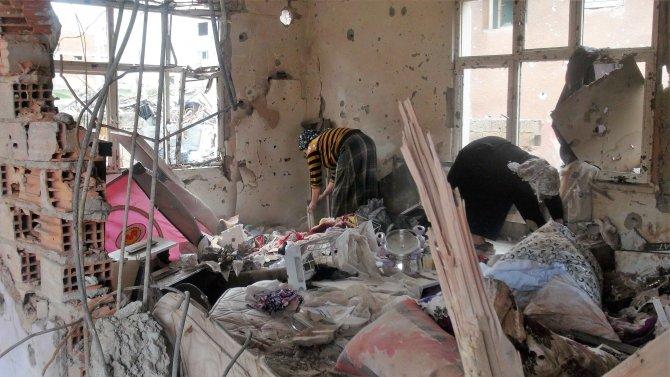 Cizre'de birçok aile sokakta kaldı