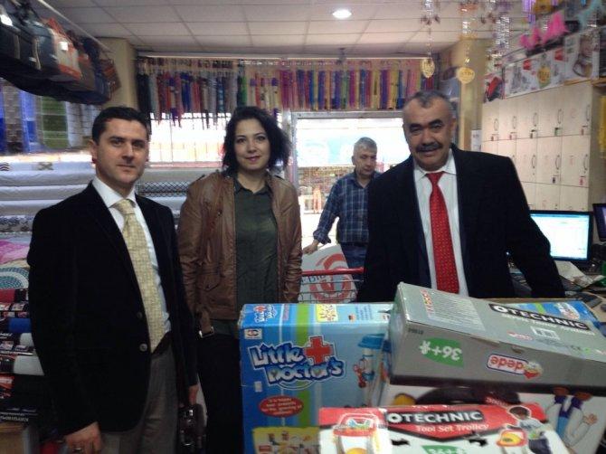 Cizre'deki anaokulu öğrencilerine Yozgat'tan eğitim materyali