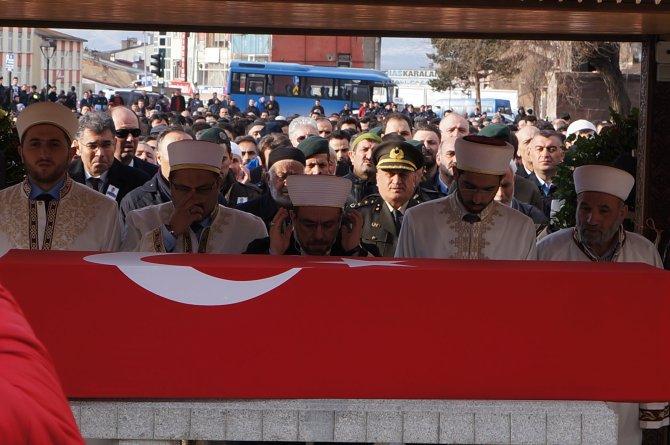 Erzurum şehidini uğurladı