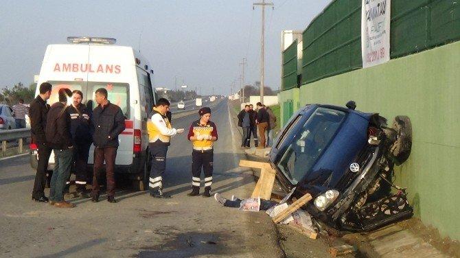 Çerkezköy'de Trafik Kazası: 1 Ölü, 2 Yaralı