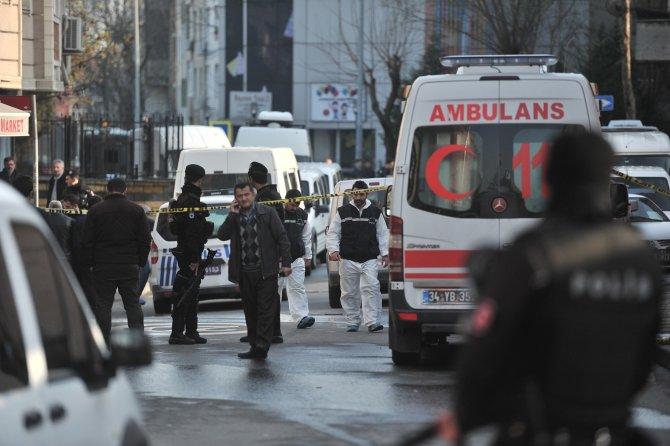 Teröristlerin cenazesi Adli Tıp'a götürüldü