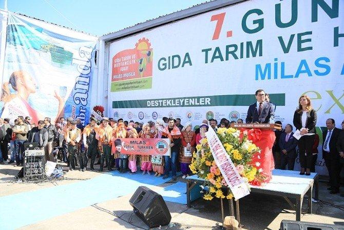 7. Güney Ege Gıda Tarım Ve Hayvancılık Fuarı Açıldı