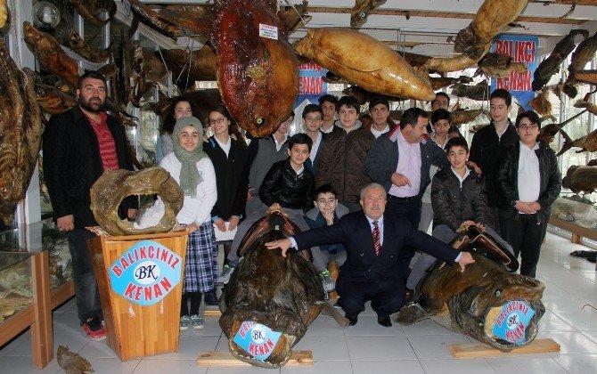 Deniz Canlıları Müzesi, Öğrencilerin Sınav Stresini Yenme Adresi Oldu