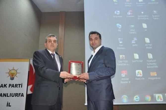 Viranşehir AK Gençlik Türkiye Birincisi Oldu