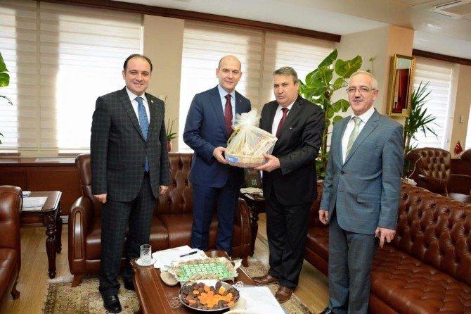 Başkan Çerçi Ankara Temaslarını Sürdürüyor