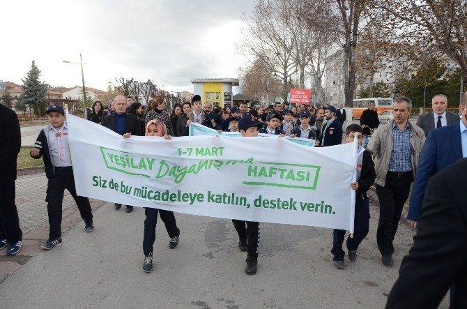 Malatya'da Yeşilay Haftası Etkinlikleri
