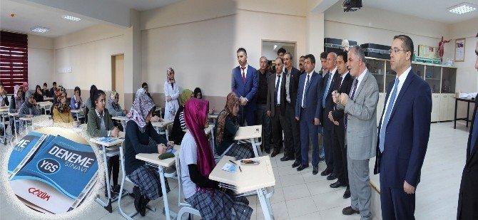 Başkan Aydın'dan YGS Öğrencilerine Motivasyon Desteği