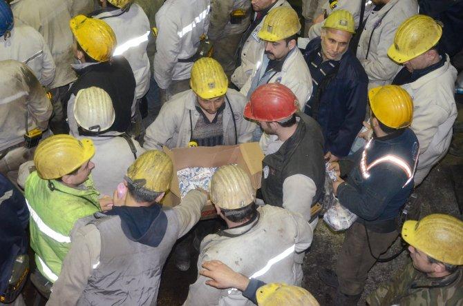 Grizu faciasında ölen 263 maden şehidi anıldı
