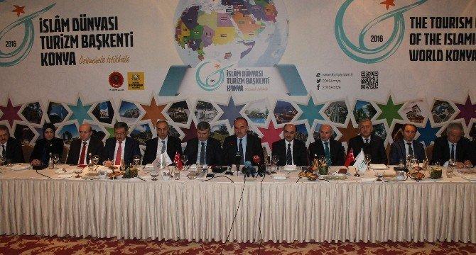 2016 Yılı İslam Dünyası Turizm Başkenti Konya Faaliyetleri Başlıyor
