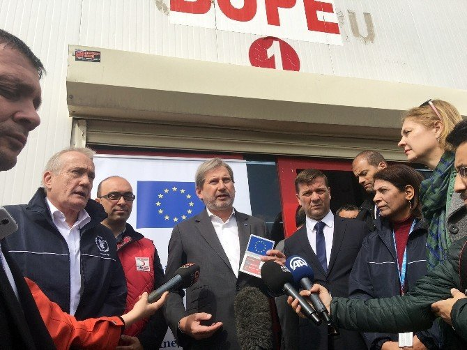 AB'den Türkiye'deki Suriyeli Mülteciler İçin 40 Milyon Euro Yardım