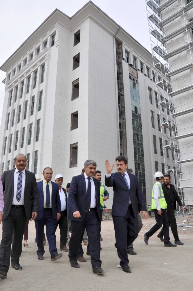 Adalet Bakanlığı Müsteşar Yardımcısı Menteş'ten Adana'da inceleme
