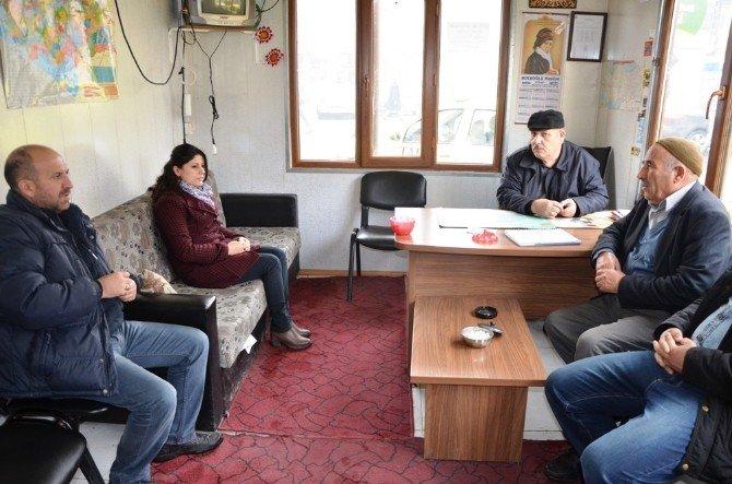 Ağrı'da Taksi Duraklarının İsimleri Türkçe Ve Kürtçe Yazıldı