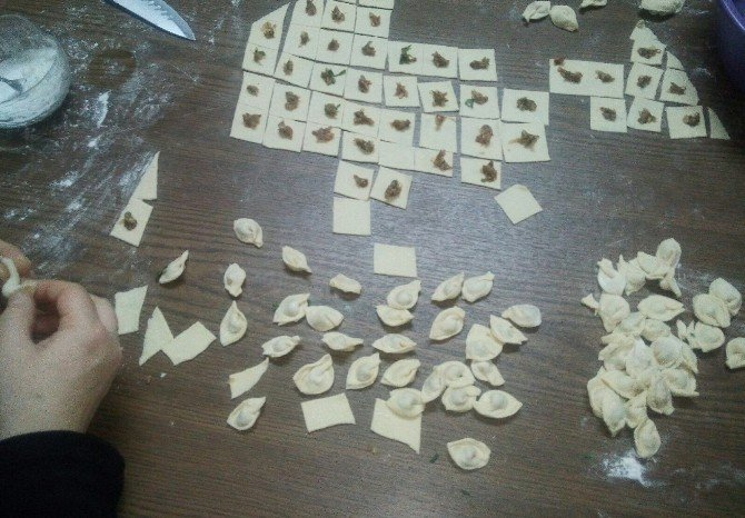Alaçam'da Aşçı Çırağı Yetiştirme Kursu