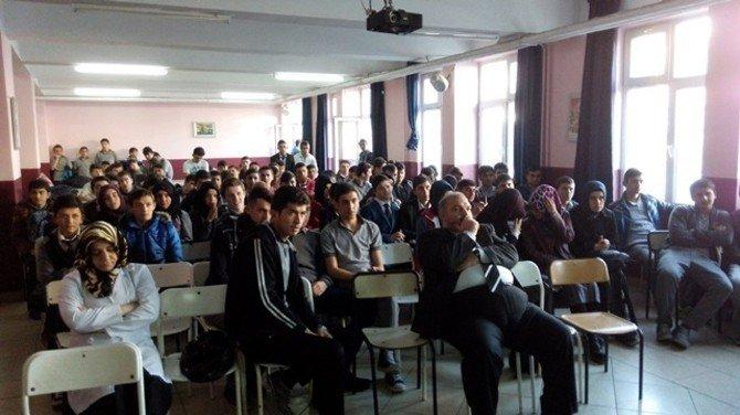 Alaçam Anadolu İHL'de İlahi Yarışması