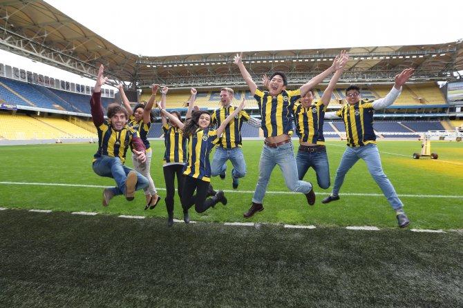 Fenerbahçe'ye ABD'li öğrencilerden ziyaret
